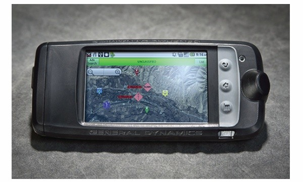 General Dynamics GD300 – Android-based Military-grade