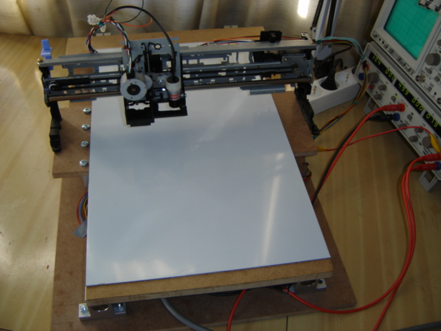 Cnc Hack How To Make A Cnc Machine From Printer Parts
