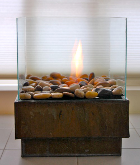 Fireplace DIY – How to Make a Portable Mini Fireplace!