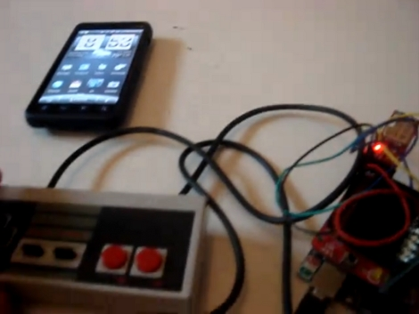 """NES Hack - DIY """"Android"""" NES Controller!"""